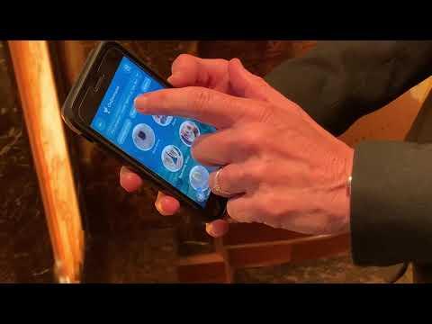 Carnival's Royal Princess cruise ship has smartphone ordering at bars and restaurants