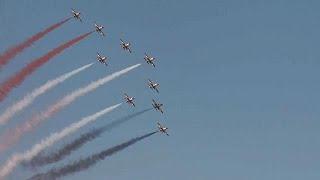 Athens Flying Week thrills crowds