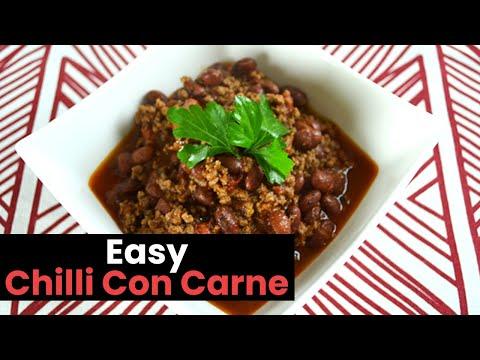 Easy Chilli Con Carne Recipe: How to Make Easy Chilli