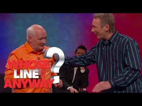 Colin Drops Lolo Jones - Whose Line Is It Anyway? US