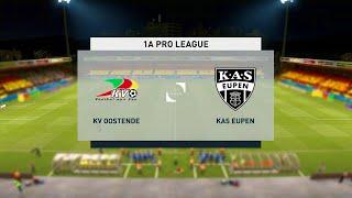 Oostende vs Eupen | Belgian Pro League (12/01/2021)