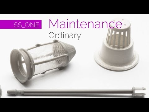 SS_ONE DENTAL UNIT - SIMPLE & SMART ITALIA - ORDINARY MAINTENANCE