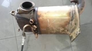 Démontage  filtre à particules Golf 6