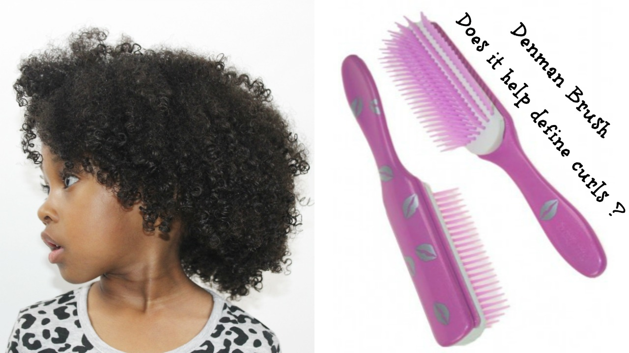 Does Her Curls Need The Denman Brush How To Get Defined Curls Youtube