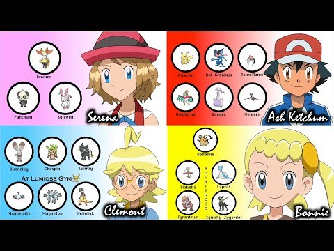Download Youtube: Serena, Bonnie & Clemont's Pokémon (Bonus: Ash)