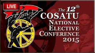 Cosatu 12th National Congress Day 2, 24 November 2015
