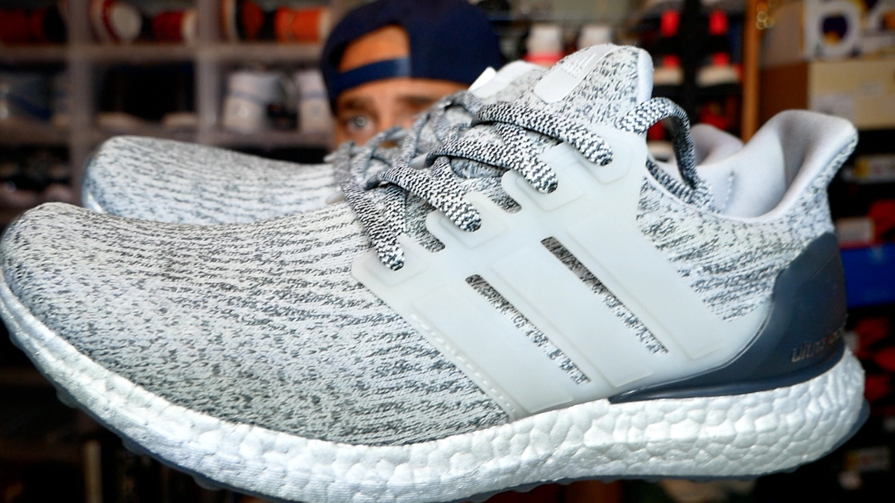 Adidas silver Ultra Boost 3.0 first look wear tested