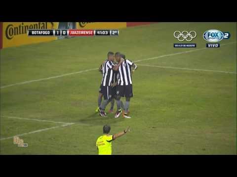 Gol Botafogo 1 x 0 Juazeirense-BA - Copa do Brasil 2016