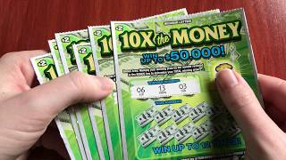 $2 10X the Money - and it really happened! Michigan Lottery - 12/16/18
