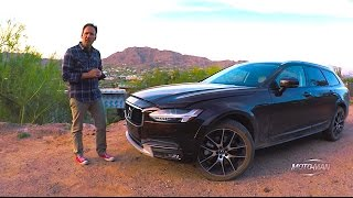 What makes a 2017 Volvo V90 Cross Country? Volvo Station Wagon • Estate Car TECH REVIEW (1 of 2)