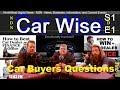 CAR WISE - Auto Q&A S1 E1 on NorthWest Digital News - Vehicle Window Etch, Dealer Finance, Cash