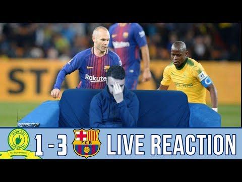 Sundowns vs Barcelona 1-3| Reaction