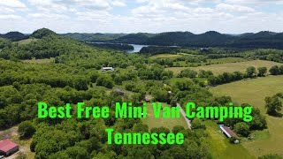 Best FREE Camping iฑ Tennessee for Mini Van