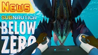 Новая АТАКА, РЫБЫ и МУЗЫКА ● Игра Subnautica BELOW ZERO News