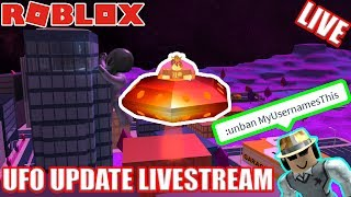 ALIEN UPDATE SIMON SAYS LIVESTREAM Roblox Jailbreak