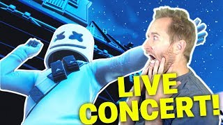 Marshmello Live Concert in Fortnite! Open Lobby Party!