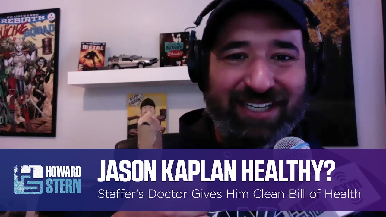 Jason Kaplan Gets a Clean Bill of Health From His Doctor