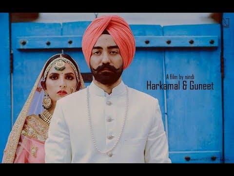 Harkamal&Guneet Indian Wedding   Cinematic Highlights    Nindi Studios