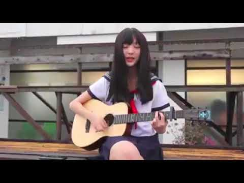Japanese Girl Cover back number - 「瞬き」by Guitar | Beautiful Voice