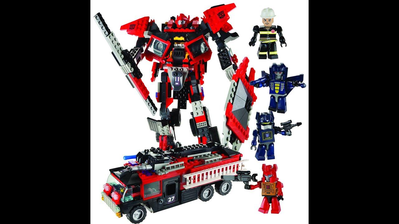 Lego Transformers Toys : Lego transformers figures toys