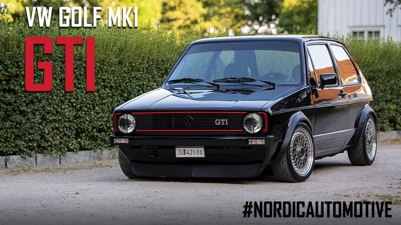 VW Golf mk1 GTI  NordicAutomotive Ep 1  YouTube