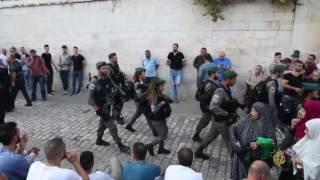أبو رميلة: مرابطون حتى تزال بوابات الاحتلال