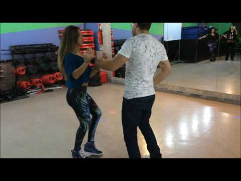 Mauricio Ramos y Yasmin bohdan bachata interval workshop