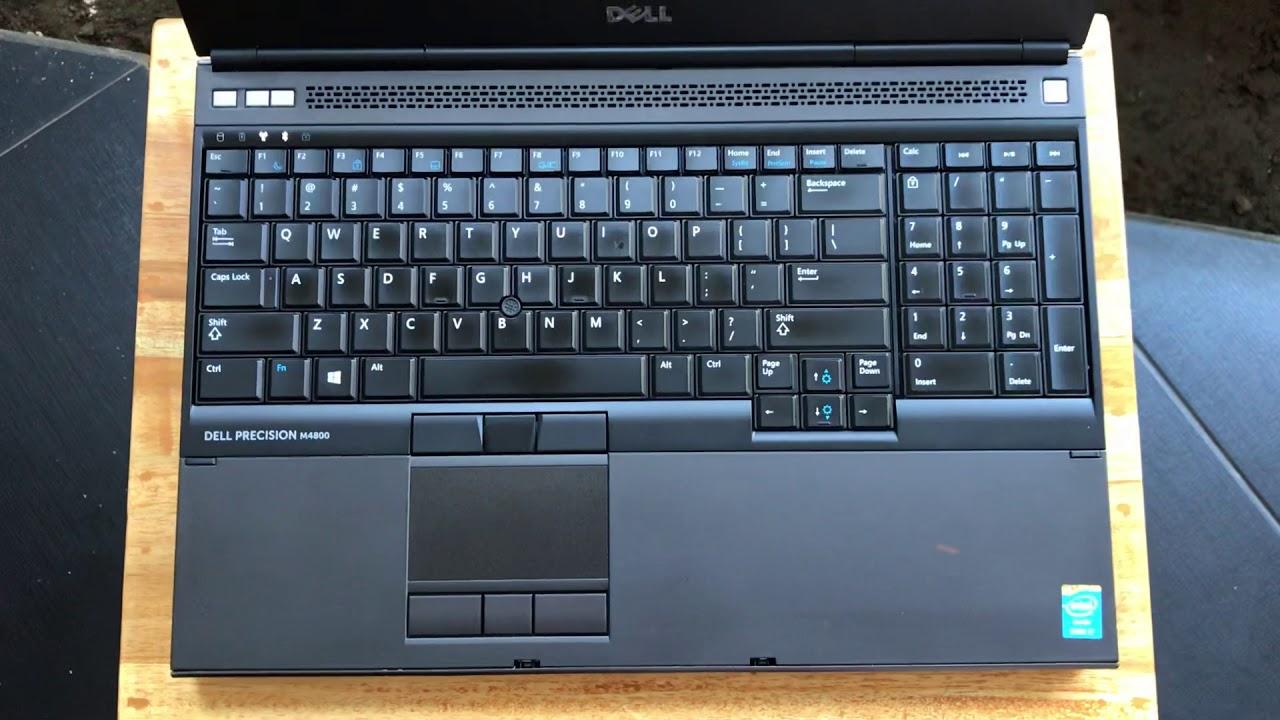 DELL PRECISION M4800 core i7 4700MQ 2 7Ghz SSD 256GB 8GB RAM