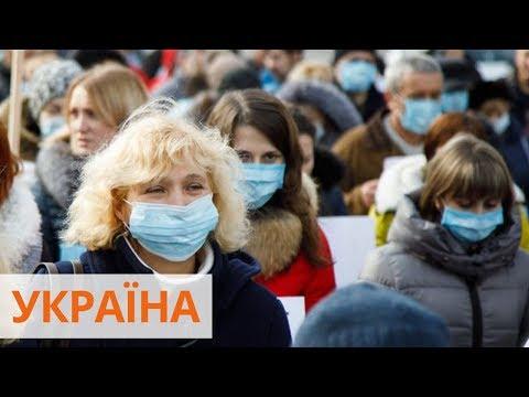 Количество больных коронавирусом в Украине выросло до 1 096 лиц