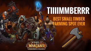 Farming - Best Place For Small Timber In Draenor