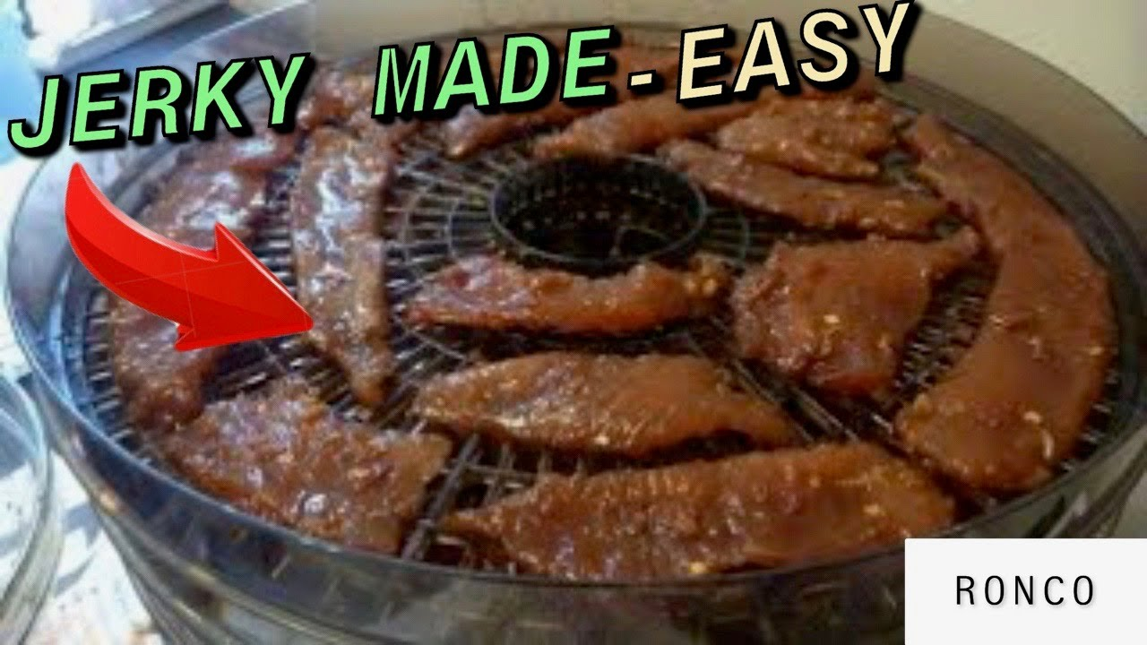 Ronco Food Dehydrator Makes Great Beef
