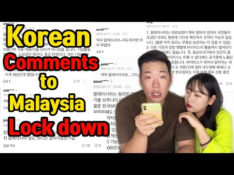 koreans'-comments-on-malaysia-lockdown-(comment-reaction)-malaysia-lock-down-reaksi-orang-korea
