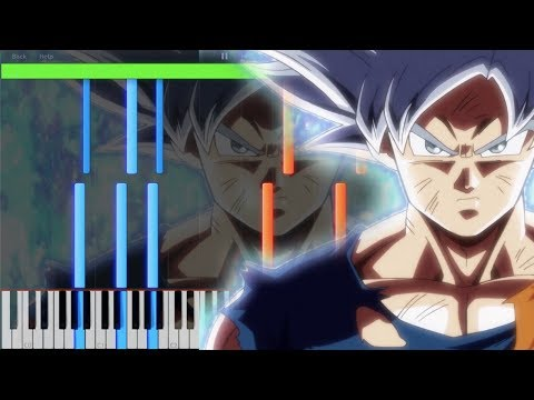 Ultra Instinct Awakens - Super Dragon Ball Heroes EPISODE 6 (Piano Tutorial) [Synthesia]