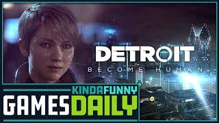 Detroit Devs Go to Court, Release Demo - Kinda Funny Games Daily 04.23.18