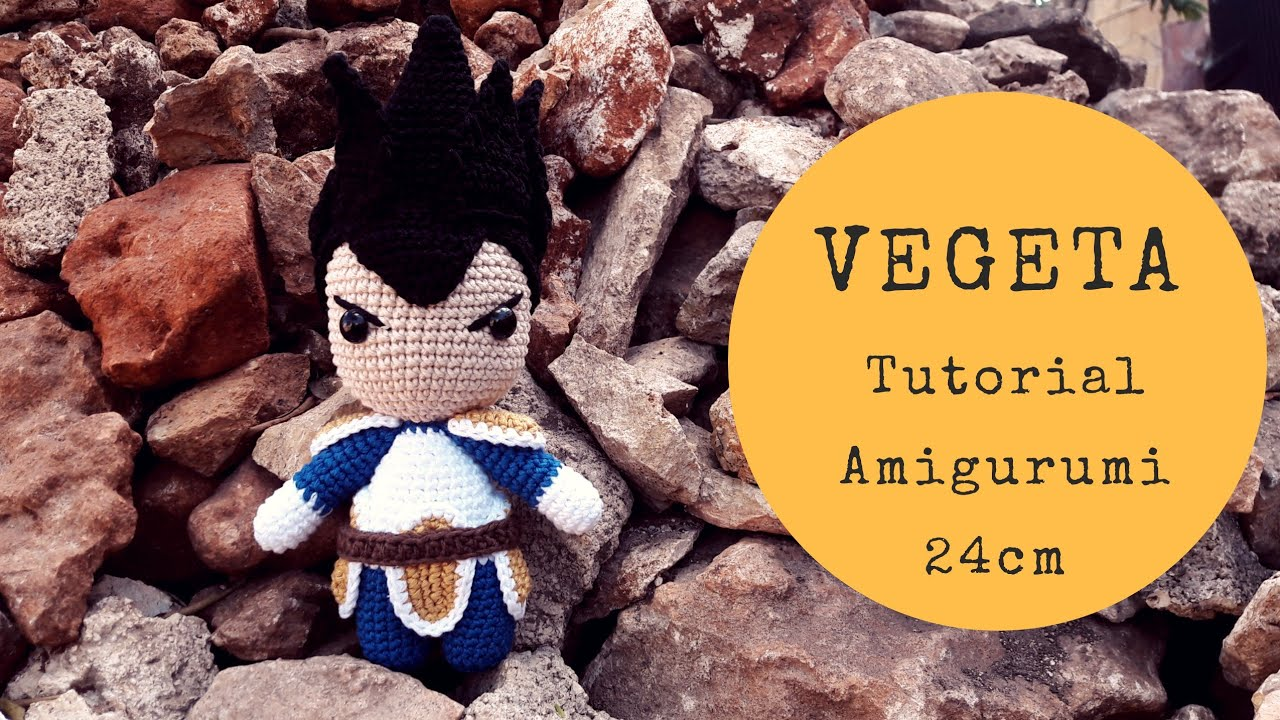 Vegeta (Dragon Ball) Free Amigurumi Pattern | Crochet dragon ... | 720x1280