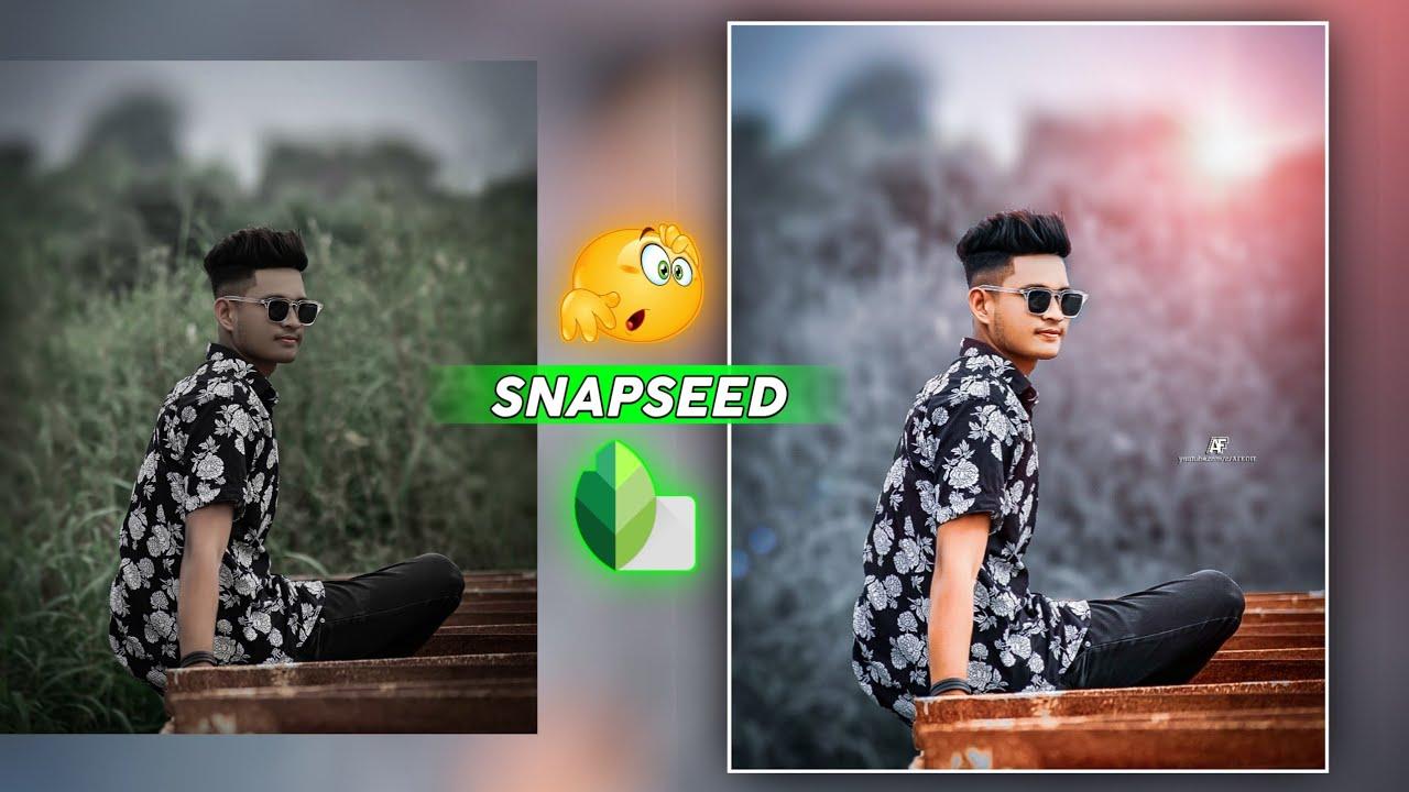 Snapseed Amazing Trick 😲 / Snapseed Photo Editing Secret [ AF EDIT ]