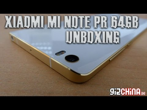 Xiaomi Mi Note Pro 64GB Unboxing - Snapdragon 810 High-End Phablet (gizchina.de)