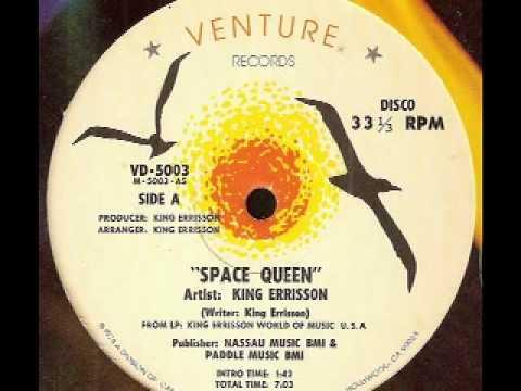 "KING ERRISSON - Space Queen (12"" 1978)"