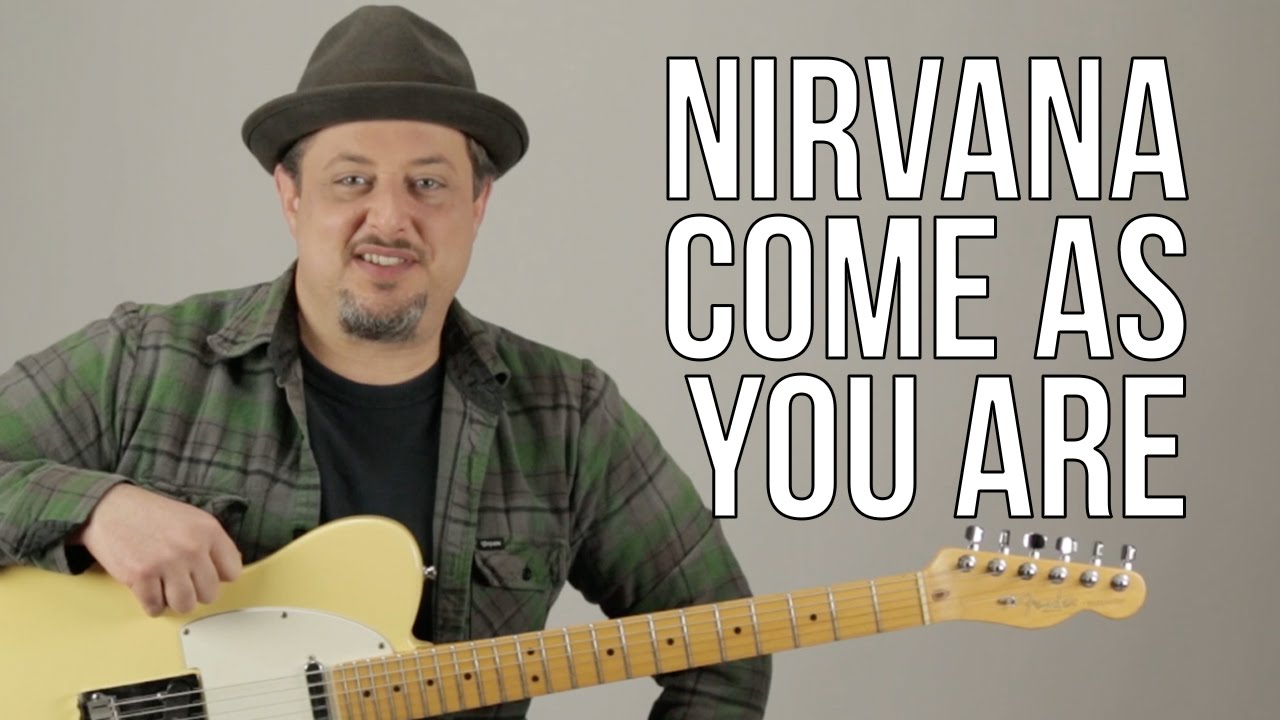 Nirvana Come As You Are Guitar Lesson How To Play On Guitar
