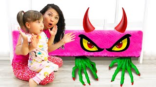 New story about Monster under my bed with Happy Diana