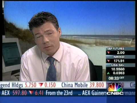 CNBC Europe Squawk Box May 2001 : Chroma key