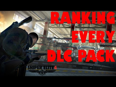 Ranking Every DLC Pack In Sniper Elite 4  