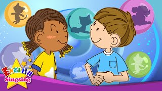 Do you have pets? I have a dog. (Pet song) - English education song for Kids - Let