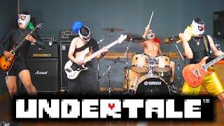 Undertale - MEGALOVANIA  (EXTREME BAND COVER) 【アンダーテール】メガロバニア 激しく演奏してみた!