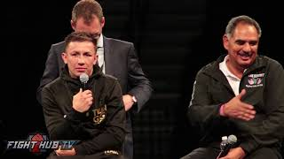 Gennady Golovkin reacts to DRAW against Canelo