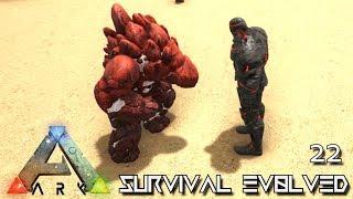 ARK: SURVIVAL EVOLVED - BABY ROCK GOLEM BREEDING & TAMING !!! E22 (MODDED ARK PUGNACIA DINOS)