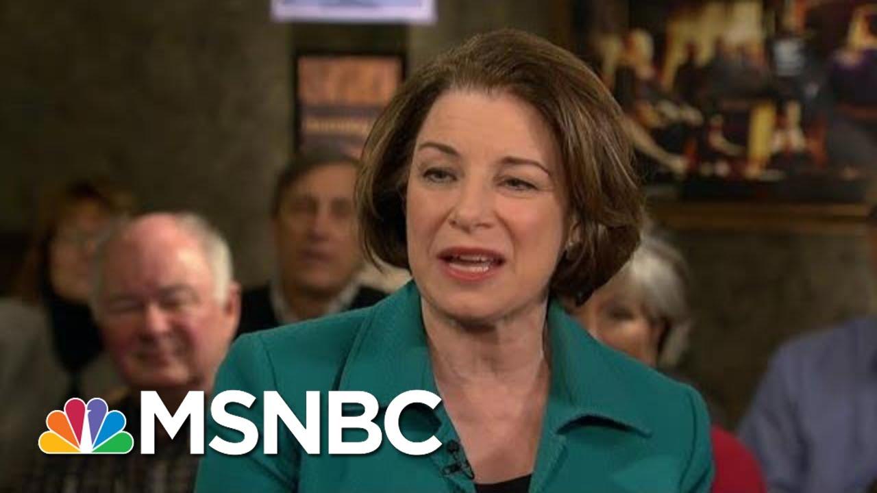 Amy Klobuchar: I Am A Fresh New Face In Politics | Morning Joe | MSNBC