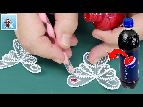How to Reuse Plastic Bottles for DIY Wall Decoration Art and Craft Ideas