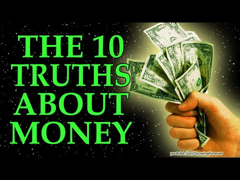 The 10 Truths About Money - Law of Attraction, Subconscious Mind Power