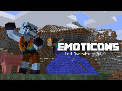 Emoticons Minecraft Mod